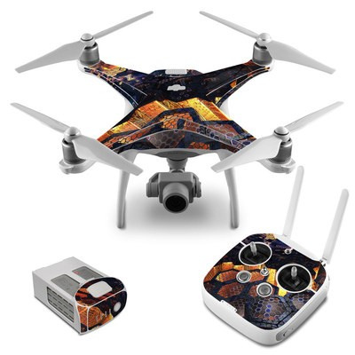 DJI Phantom 4 Skin - Hivemind