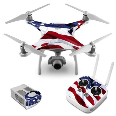 DJI Phantom 4 Skin - Patriotic