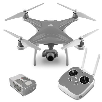 DJI Phantom 4 Skin - Solid State Grey
