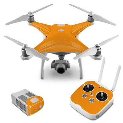 DJI Phantom 4 Skin - Solid State Orange