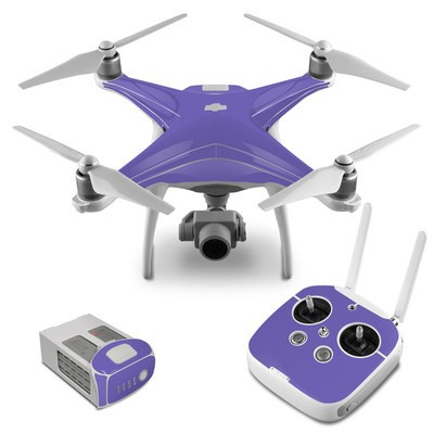 DJI Phantom 4 Skin - Solid State Purple