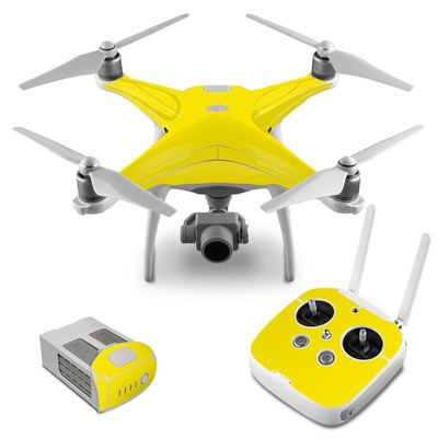Copter Case Custom für DJI Phantom 4 /& Pro yellow Plus