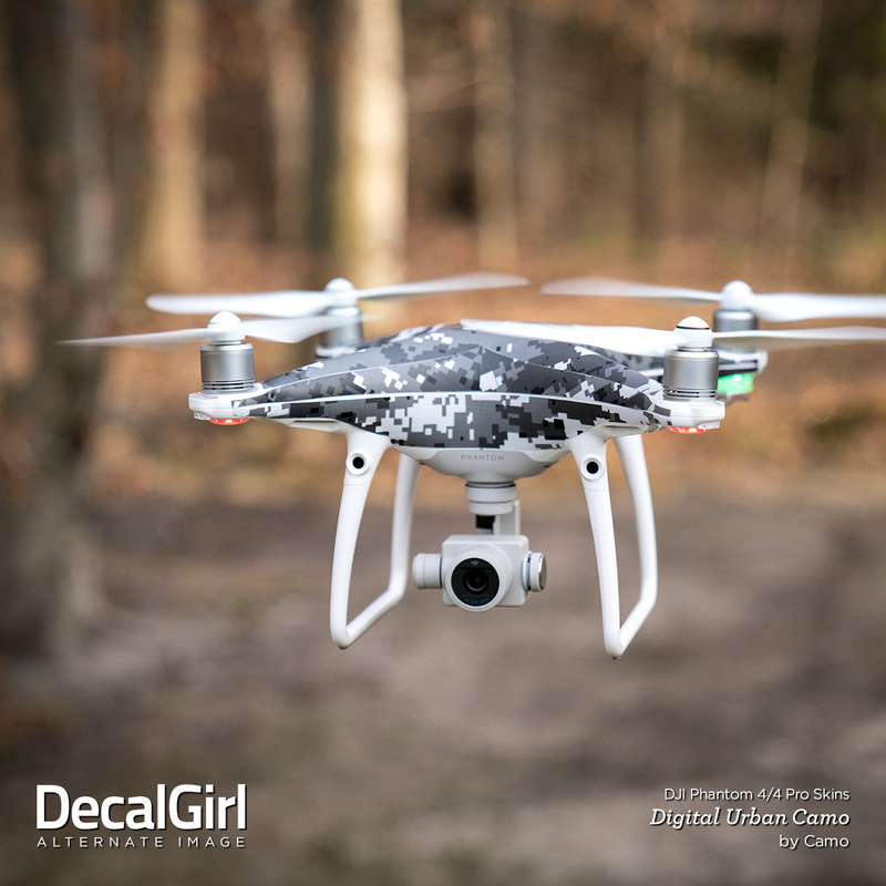 DJI Phantom 4 Skin - Digital Navy Camo by Camo | DecalGirl