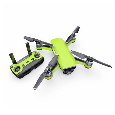 DJI Spark Skin - Solid State Lime