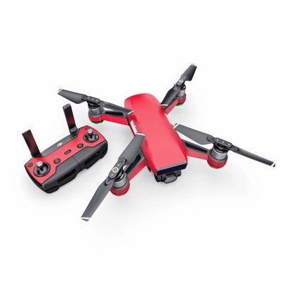 DJI Spark Skin - Solid State Red