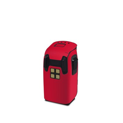 DJI Spark Battery Skin - Solid State Red