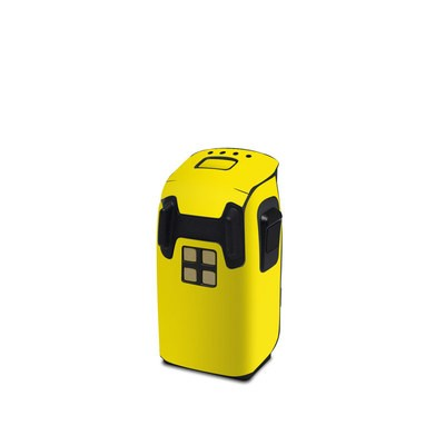 DJI Spark Battery Skin - Solid State Yellow
