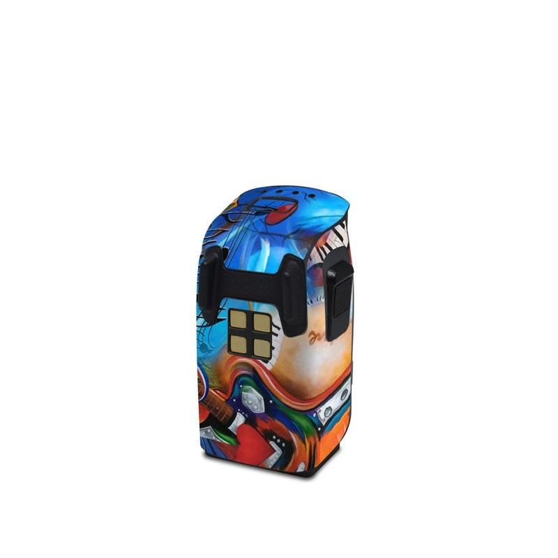 DJI Spark Battery Wrap Music Madness by Juleez Sticker Skin Decal