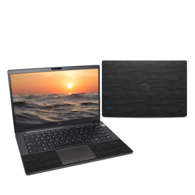 Dell Latitude (7400) Skin - Black Woodgrain