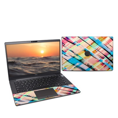 Dell Latitude (7400) Skin - Check Stripe