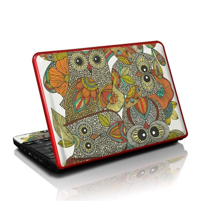 Dell Mini Skin - 4 owls