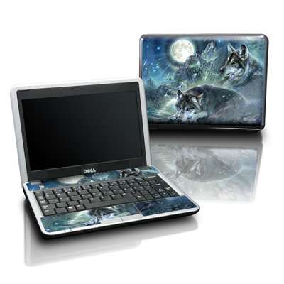 Dell Mini Skin - Bark At The Moon