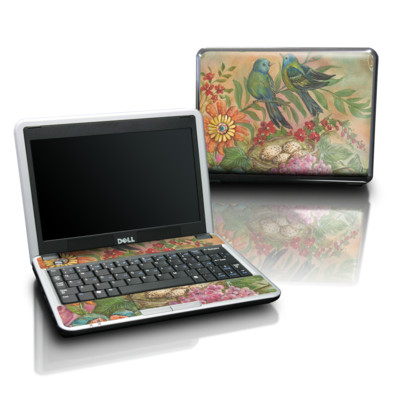 Dell Mini Skin - Splendid Botanical