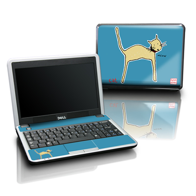 Dell Mini Skin - Cat