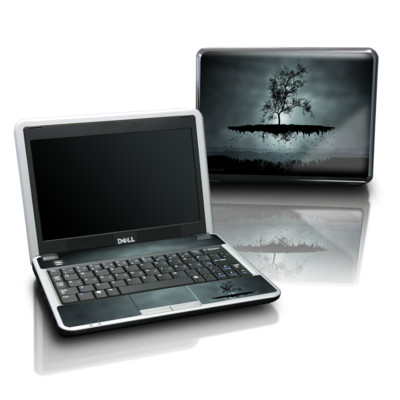 Dell Mini Skin - Flying Tree Black