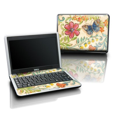 Dell Mini Skin - Garden Scroll