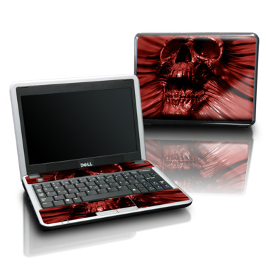 Dell Mini Skin - Skull Blood