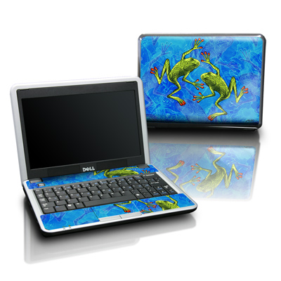 Dell Mini Skin - Tiger Frogs