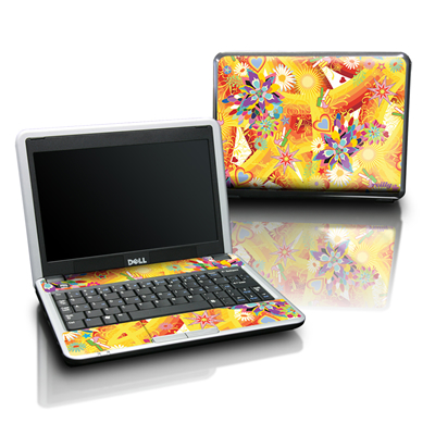 Dell Mini Skin - Wall Flower