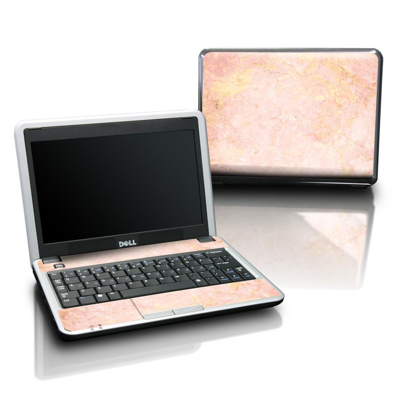 Dell Mini Skin - Rose Gold Marble by Marble Collection ...