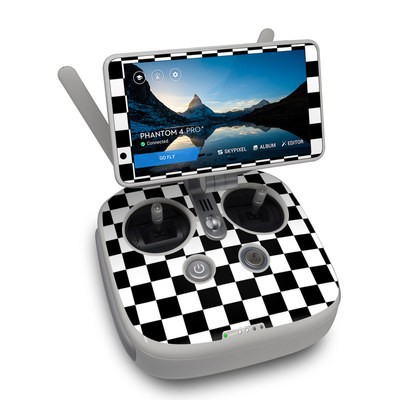 DJI Phantom 4 Pro Plus Controller Skin - Checkers
