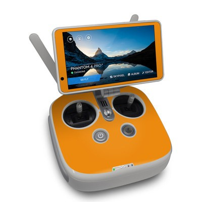 DJI Phantom 4 Pro Plus Controller Skin - Solid State Orange