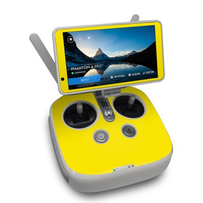 DJI Phantom 4 Pro Plus Controller Skin - Solid State Yellow