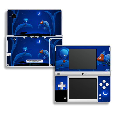DSi Skin - Alien and Chameleon