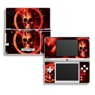 DSi Skin - Blood Ring
