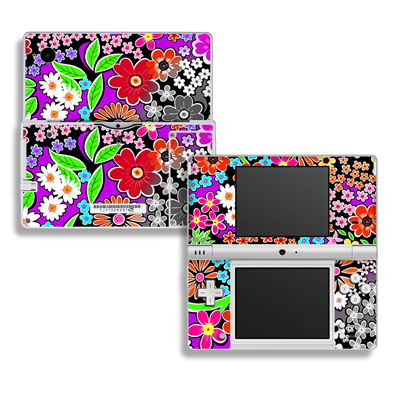 DSi Skin - A Burst of Color