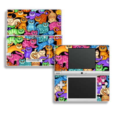 DSi Skin - Colorful Kittens