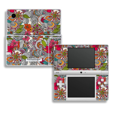 DSi Skin - Doodles Color