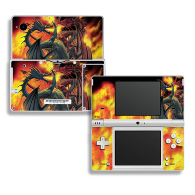 DSi Skin - Dragon Wars