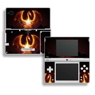 DSi Skin - Fire Dragon