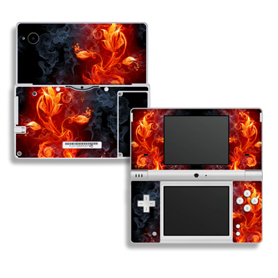 DSi Skin - Flower Of Fire