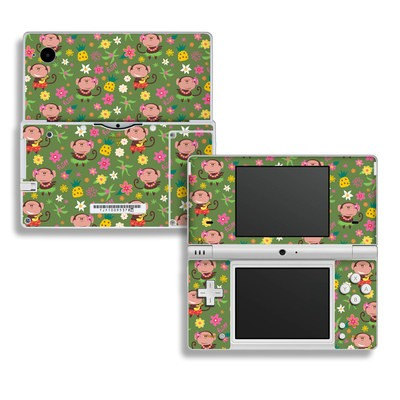 DSi Skin - Hula Monkeys