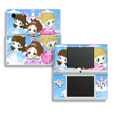 DSi Skin - Little Princesses