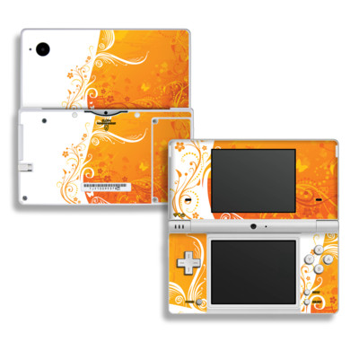 DSi Skin - Orange Crush