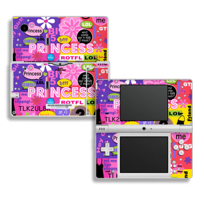 DSi Skin - Princess Text Me