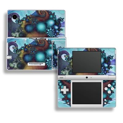 DSi Skin - Sea Jewel