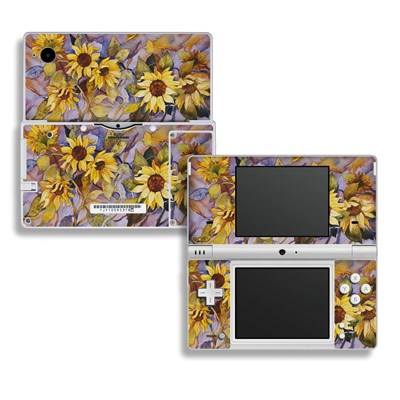 DSi Skin - Sunflower
