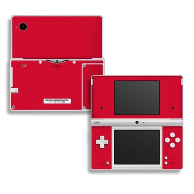 DSi Skin - Solid State Red