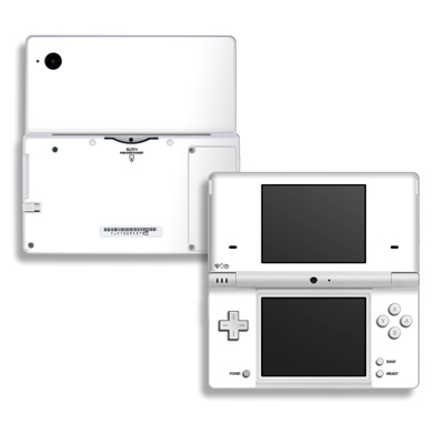 DSi Skin - Solid State White