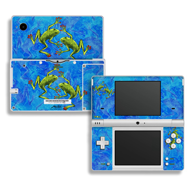 DSi Skin - Tiger Frogs