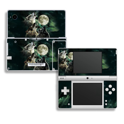 DSi Skin - Three Wolf Moon