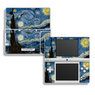 DSi Skin - Starry Night