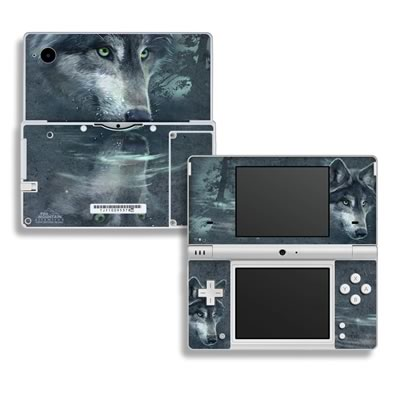 DSi Skin - Wolf Reflection