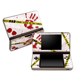DSi XL Skin - Crime Scene Revisited