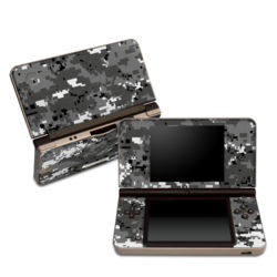 DSi XL Skin - Digital Urban Camo