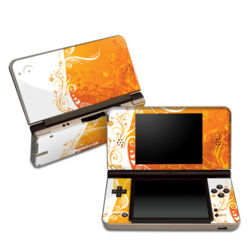 DSi XL Skin - Orange Crush
